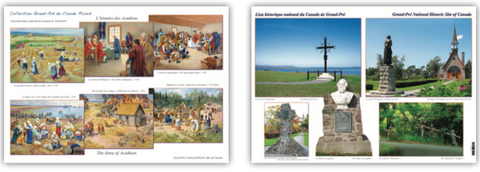 Placemat: Multi Images at Grand-Pré National Historic Site