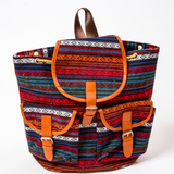 Canvas Backpack: Native Multicolour