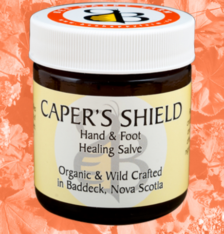 Caper's Shield: Hand and Foot Soothing Salve