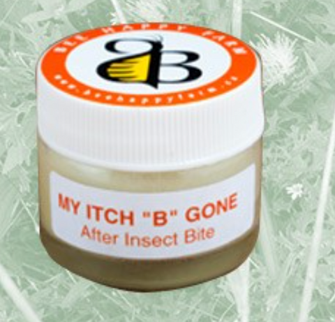 After Insect Bite Soothing Balm: My Itch B Gone