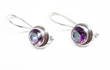 Amethyst Earrings: E175