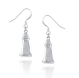 Drop Earrings: Peggy's Cove Hand Crafted Pewter