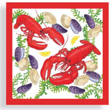 Napkins: Lobster With Shellfish Dinner