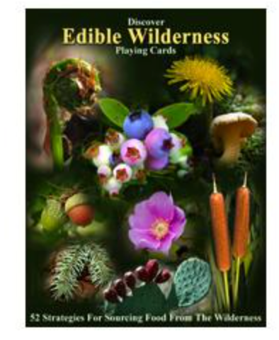 Playing Cards: Edible Wilderness