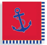 Napkins Beverage: Nautical Chic