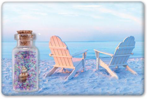 Magnet: Jar and Adirondack Chairs