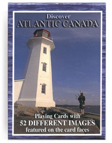 Playing Cards: Discover Atlantic Canada