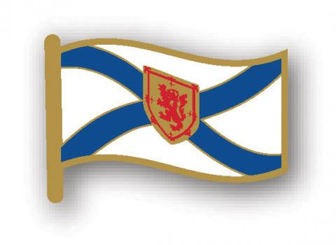 Lapel Pin: Nova Scotia Flag