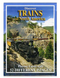 Playing Cards: Discover Trains of North America
