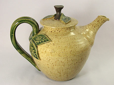 Pottery: Small Teapot in the Blue Iris Collection