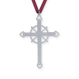 Ornament: Acadian Cross Commemorative 2004 Hand Crafted Pewter