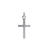 Charm: Classic Cross Hand Crafted Pewter