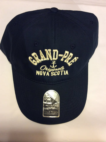 Hat: Anchor with Grand-Pré Nova Scotia