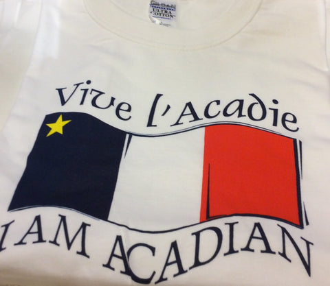T-Shirt: Acadian Flag