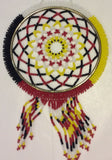 "Dreamcatcher: 4"" Full Beaded Handcrafted by Patty Smith Mi'Kmaq Elder"