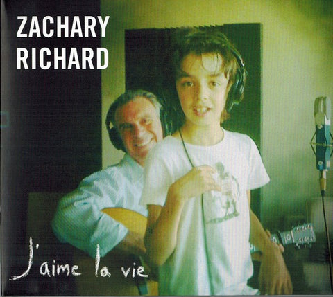 CD Zachary Richard J'aime la vie