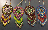 "Dreamcatcher: 2"" Full Beaded Handcrafted by Patty Smith Mi'Kmaq Elder"