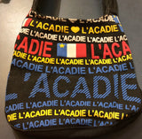 Canvas Bag: L'Acadie writing all over