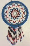 Dreamcatcher: Full Beaded Handcrafted by Patty Smith Mi'Kmaq Elder