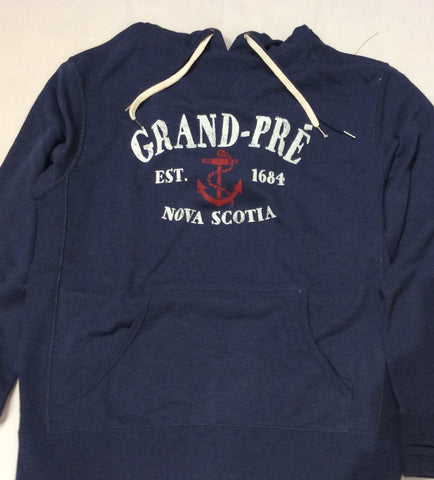 Hoodie: South Shore Anchor Custom GRAND-PRÉ EST 1684 NOVA SCOTIA