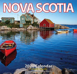 Calendar: Large 2020 Nova Scotia (16 month) Photography by John Morris
