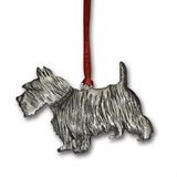 Ornament: Little Scottie Dog Handcrafted Pewter