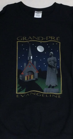 Sweatshirt: Unisex Grand-Pré Nightfall