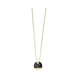 Michelle McDowell Acrylic Paris Pendant Long Necklace