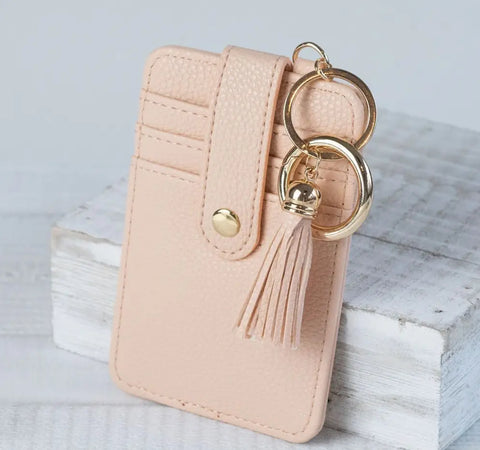 Lauren Lauren Key Ring Card Clutch