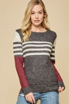 Andree by Unit Color Block Sweater-ARRIVING SOON!