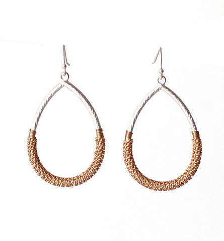 Meghan Browne Vita Mixed Metal Earrings