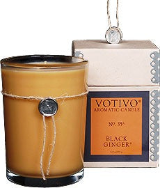 Votivo Black Ginger Aromatic Candle