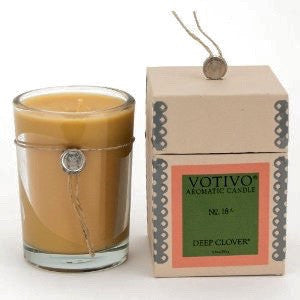 Votivo Deep Clover Aromatic Candle