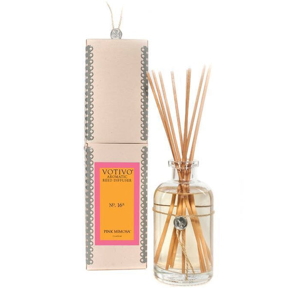 Votivo Aromatic Reed Diffuser Pink Mimosa