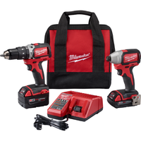 2799-22CX M18 Compact Brushless Hammer Drill Impact Kit