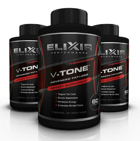 V-TONE Thermogenic(60ct) - ELIXIR PERFORMANCE - 1
