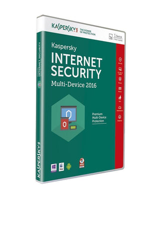 Kaspersky Internet Security 2016 Multi Device 1 User DVD