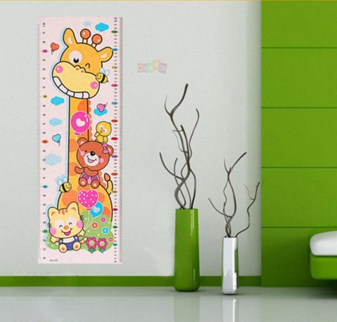 Children Height Sticker - Animal Themed Children Height Sticker