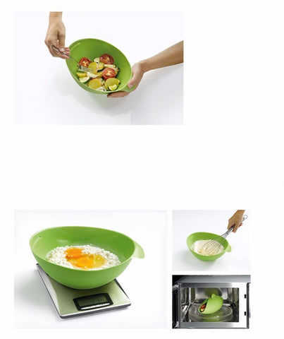 Food Vegetable Bowl - Irregular Silicone Steamer