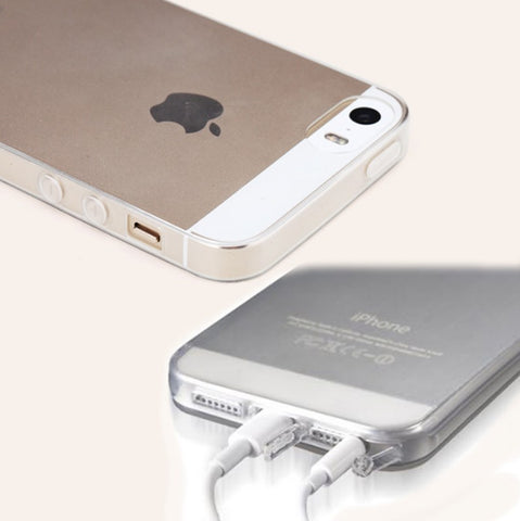 Iphone 5 Case - Transparent Soft Silicone Case For Apple IPhone 5