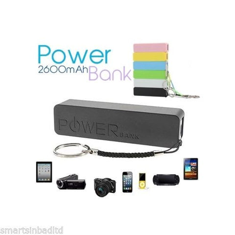 Power Bank Battery - Power Bank Charger 2600mah