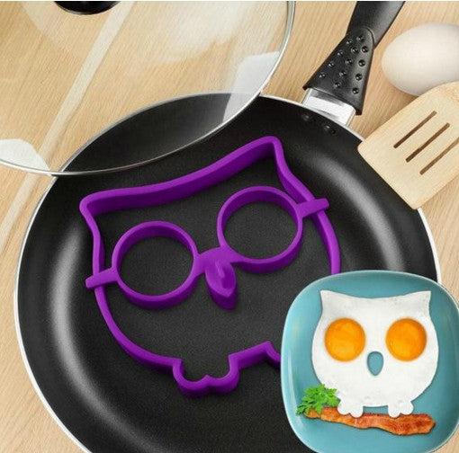 Silicone Owl Fried Egg Mould - Silicone Owl Fried Egg Mould