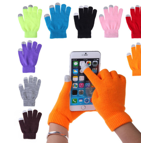 Unisex Touch Screen Gloves - Unisex Touch Screen Gloves