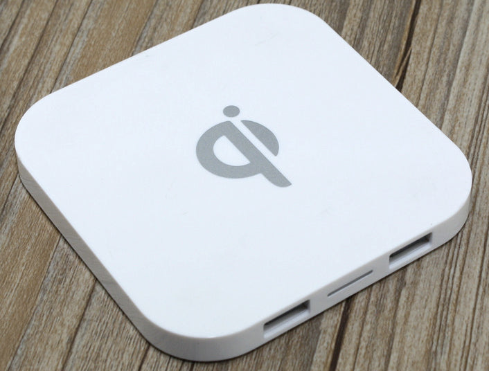 Wireless Charger Pad - Square Shape Qi Wireless Charger For Smartphones