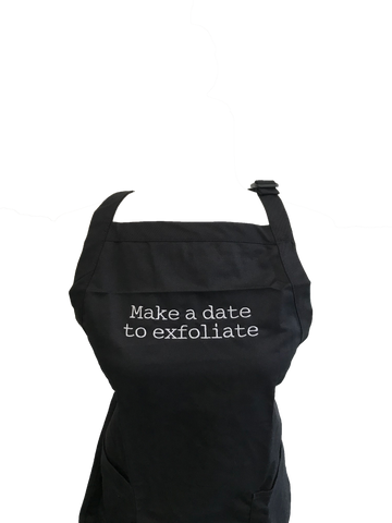Make A Date To Exfoliate Apron