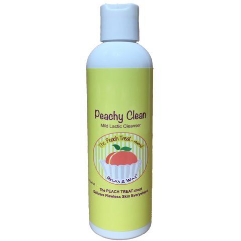 Peachy Clean 8oz ~ lactic cleanser
