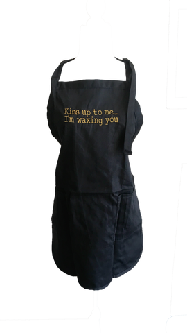 Image of Kiss Up To Me I'm Waxing You Apron