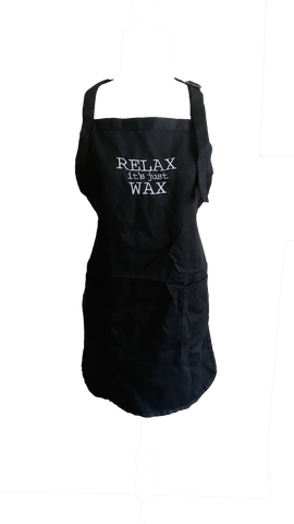 Relax Its Just Wax Apron