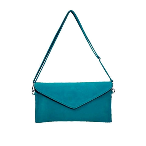 asbury clutch in teal