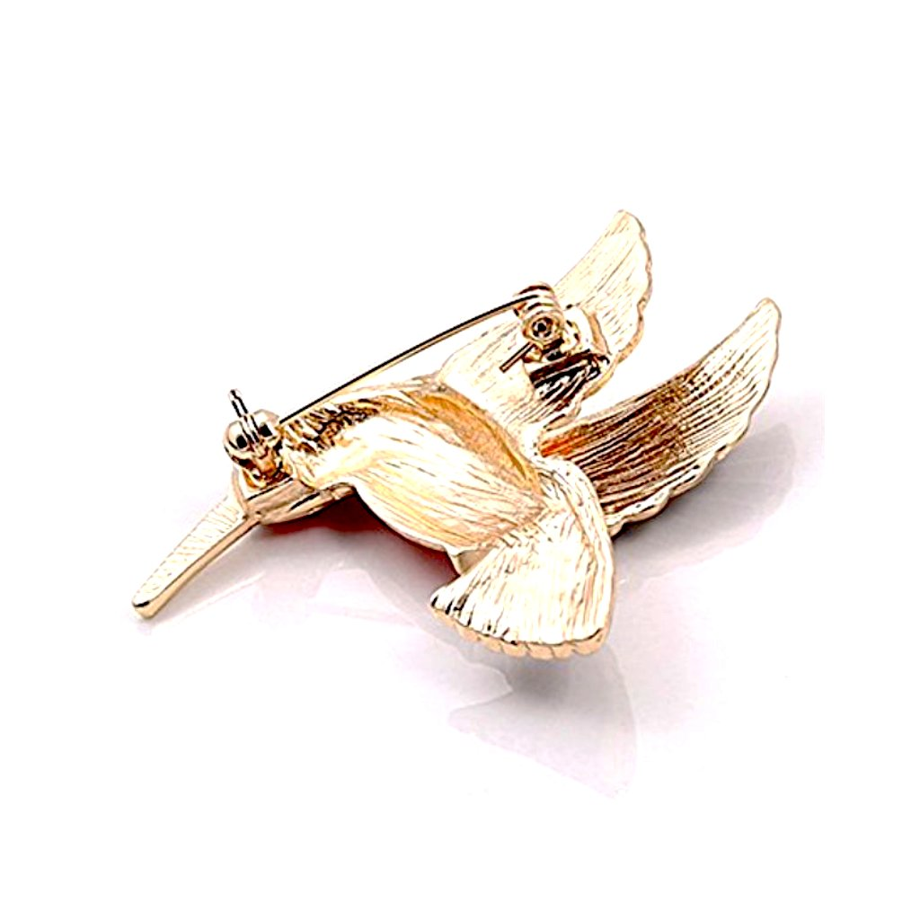 little bird brooch